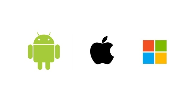 Apple Microsoft Android Markets and Stored
